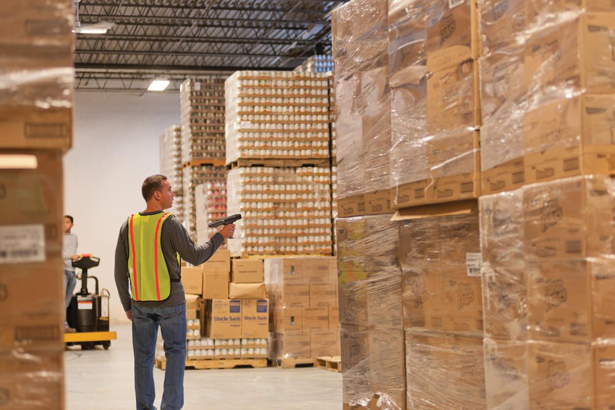 Barcode Label And Rfid Warehouse Solutions