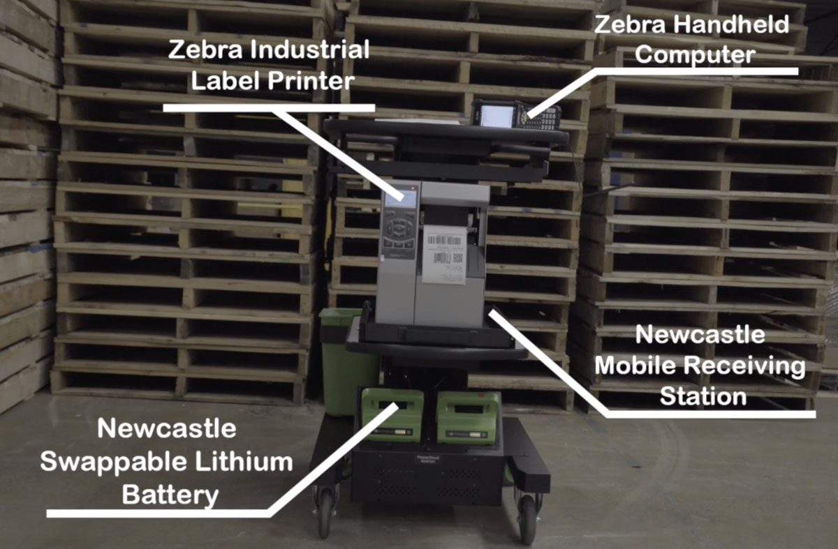 NewCastles Mobile Processing Station for Productivity Where You Need it