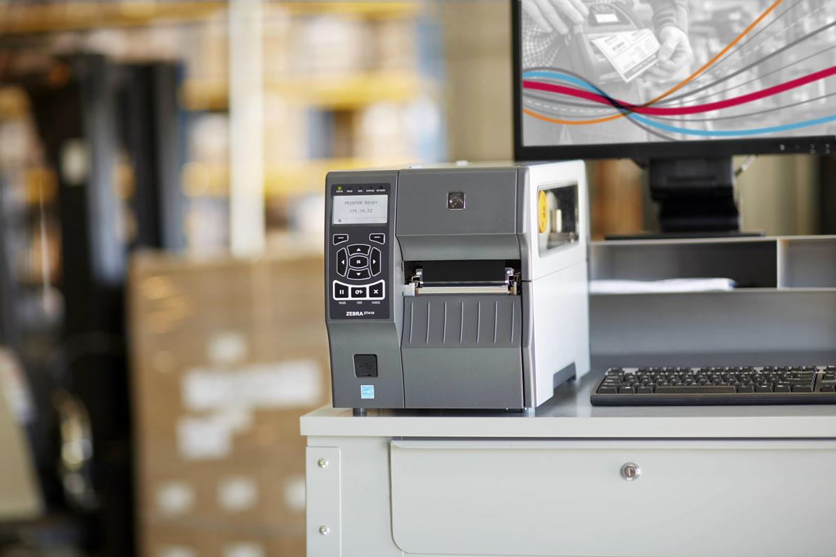 Zebra ZT410 Solution Printer using Teklynx Printer Drivers